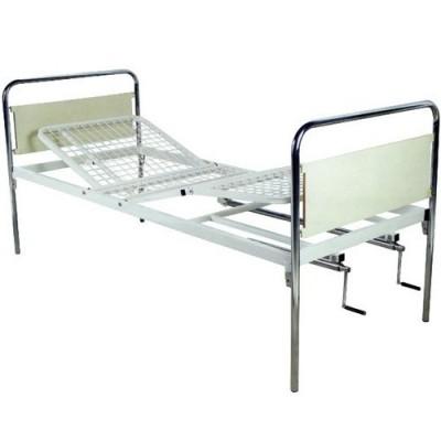Τα πλαϊνά ασφαλείας προσαρμόζονται χωρίς εργαλεία στο πολύσπαστο νοσοκομειακό κρεβάτι
