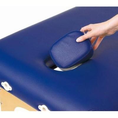 Το φορητό κρεβάτι φυσικοθεραπείας Sissel Basic διαθέτει οπή για θεραπεία σε πρηνή θέση (στάνταρντ εξοπλισμός)