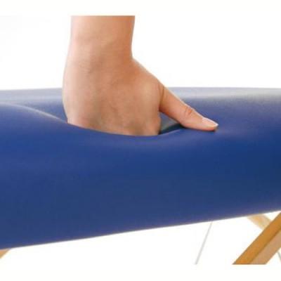 Η επιφάνεια θεραπείας έχει μεγάλο πάχος (9,5 cm) και προσφέρει μεγάλη άνεση στον ασθενή