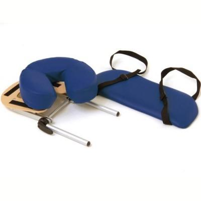 Φορητό κρεβάΔιαθέτει στο στάνταρντ εξοπλισμό στήριγμα αντιβραχίων και μαξιλάρι προσώπου ρυθμιζόμενης κλίσης