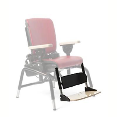 Το υποπόδιο μπορεί να αφαιρείται εύκολα όταν το παιδί μπορεί να σηκώνεται μόνο του από το κάθισμα