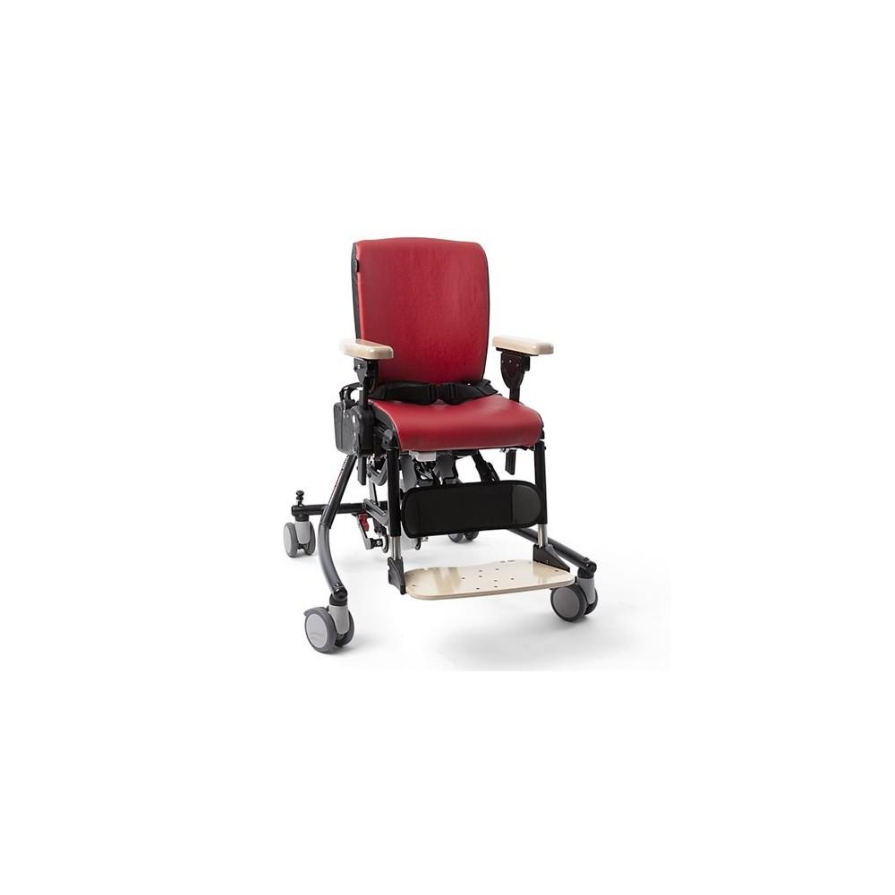 Το κάθισμα δραστηριοτήτων σχεδιάστηκε με στόχο την ενεργή καθιστή θέση και τη βελτίωση της λειτουργικότητας