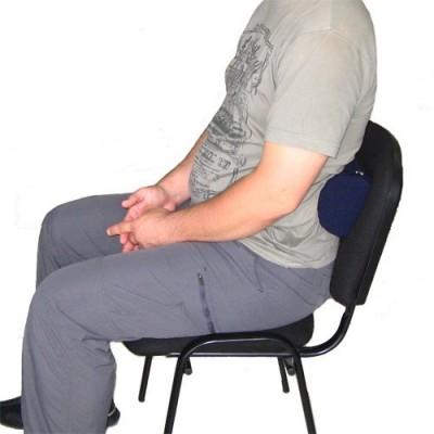 Το ρολό μέσης μπορεί να χρησιμοποιηθεί σε οποιοδήποτε κάθισμα με πλάτη και διορθώνει τη στάση προφυλάσσοντας από την οσφυαλγία