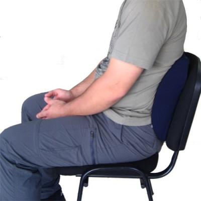 Διαθέτει ειδική διαμόρφωση για υποστήριξη της οσφύος προλαμβάνοντας και ανακουφίζοντας από τους πόνους στη μέση και τον αυχένα