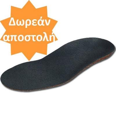 Οι ανατομικοί πάτοι πλατυποδίας BirkoBasic® διατηρούν τη σωστή ανατομική θέση του ποδιού κατά τις καθημερινές δραστηριότητες