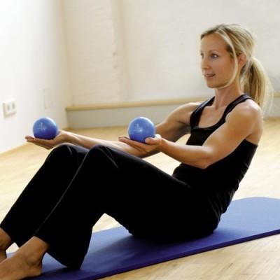 Οι Sissel® Pilates Toning Ball είναι κατάλληλες για ασκήσεις ενδυνάμωσης κορμού και άνω άκρων