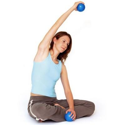 Οι Sissel® Pilates Toning Balls δίνουν τη δυνατ'οτητα για πλήθος ασκήσεων