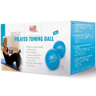 Οι μπάλες Sissel® Pilates Toning Ball διατίθενται σε συσκευασία των 2 τεμαχίων