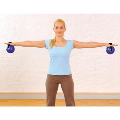 Οι μπαλες γυμναστικής Sissel® Fitness Toning Ball με ιμάντα είναι κατάλληλες για ενδυνάμωση των άνω άκρων