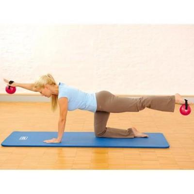 Οι Sissel® Fitness Toning Balls  με ιμάντα είναι κατάλληλες για την εκγύμναση άνω και κάτω άκρων καθώς και του κορμού