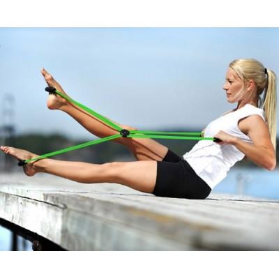 Ο ιμάντας Pilates Core Trainer μπορεί να μεταφερθεί παντού για να μη σας λείπει η γυμναστική όπου κι αν βρίσκεστε