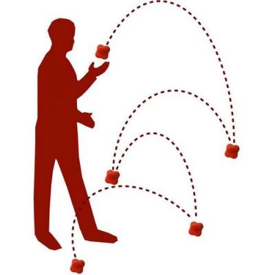 Το μοναδικό της σχήμα κάνει απρόβλεπτη την κίνηση και βοηθά σε ασκήσεις βελτίωσης της ταχύτητας αντίδρασης
