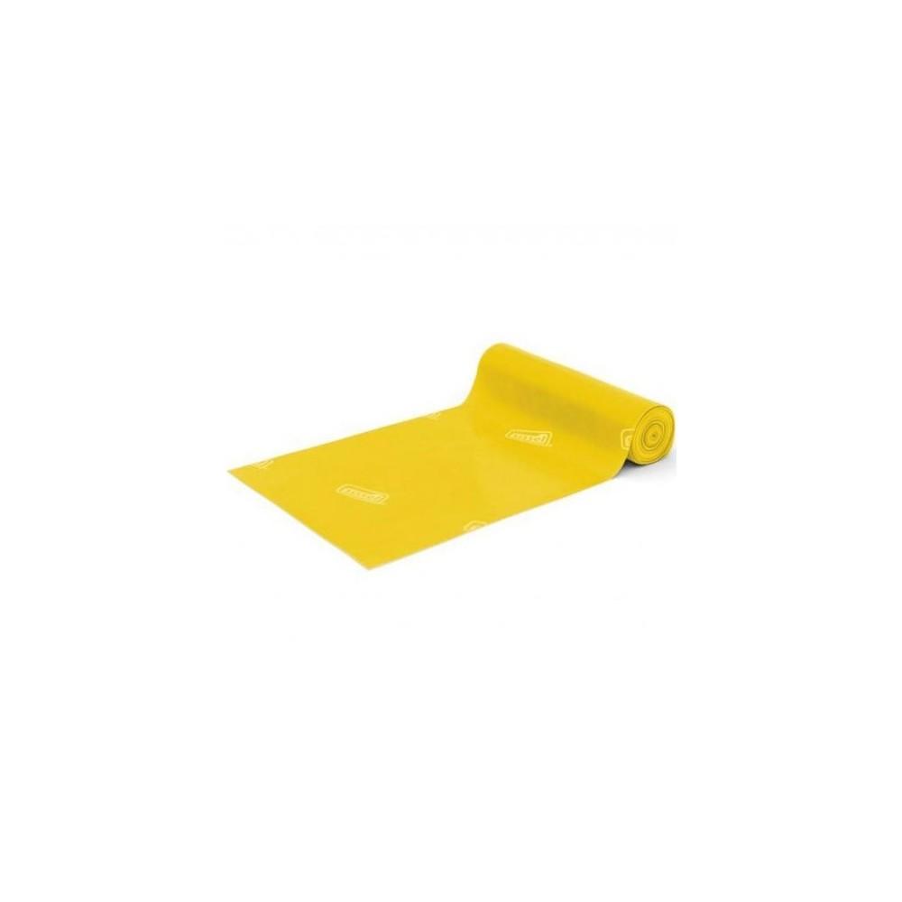 Ιμάντας άσκησης Sissel® Fitband 1m x 15 cm με ελαφρά αντίσταση σε κίτρινο χρώμα