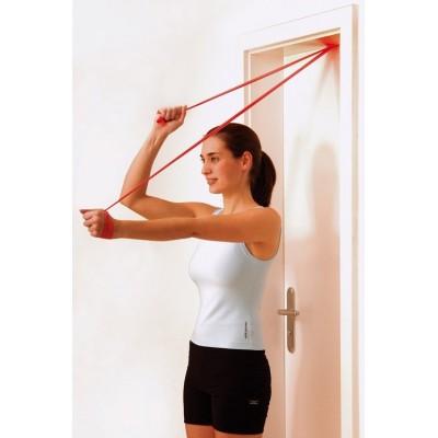 Οι ελαστικοί ιμάντες άσκησης Sissel® Fitband δίνουν τη δυνατότητα για πολλές ασκήσεις