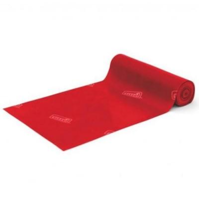 Οι ελαστικοί ιμάντες άσκησης Sissel® Fitband με κόκκινο χρώμα παρέχουν μέτρια αντίσταση
