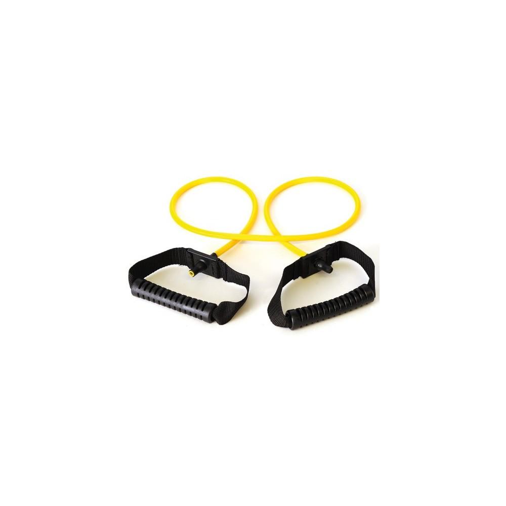 Τα λάστιχα εκγύμνασης Sissel® Fit Tubes με κίτρινο χρώμα παρέχουν ελαφρά αντίσταση
