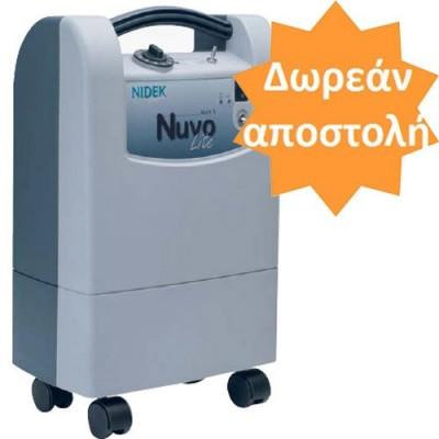 Ο συμπυκνωτής οξυγόνου Nidek κατασκευάζεται στις Η.Π.Α. και είναι ο μικρότερος κατασκευαστής που έχει κατασκευαστεί ποτέ
