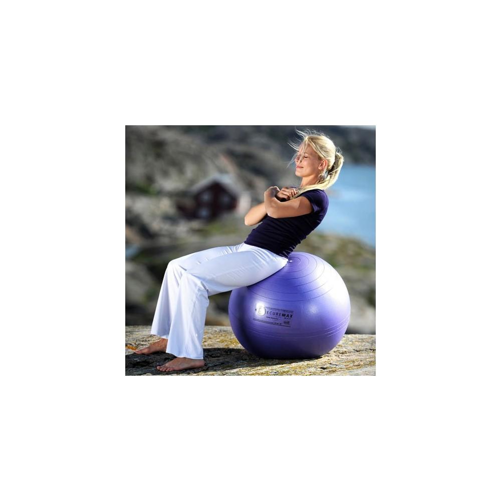 Οι μπάλες γυμναστικής Sissel Securemax® είναι ιδιαίτερα ανθεκτικές για να γυμνάζεστε με ασφάλεια