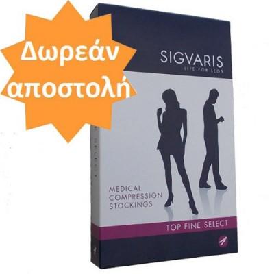 Θεραπευτικές κάλτσες Sigvaris κάτω γόνατος TFS 702 (κλάση 2) με διαβαθμισμένη συμπίεση 22-36 mmHg
