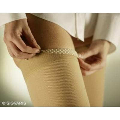 Οι κάλτσες ριζομηρίου Sigvaris TFS 702 διαθέτουν σιλικόνη υψηλής ποιότητας για να παραμένουν στη θέση τους όλη την ημέρα