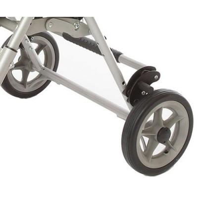 Το παιδικό αναπηρικό αμαξίδιο Pixi διαθέτει φρένο στους πίσω τροχούς