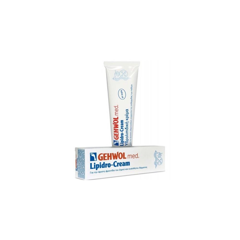 Ενυδατική κρέμα για το ευαίσθητο δέρμα των ποδιών Gehwol med Lipidro Cream