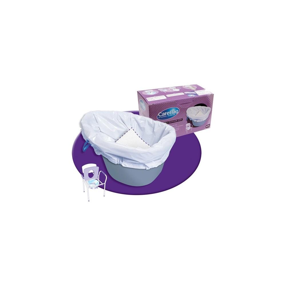 Σακούλες Carebag® για δοχεία WC