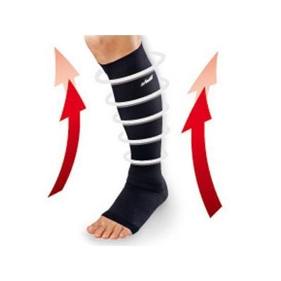 Η κάλτσα Zamst LC-1 Open Toe έχει ειδική κατασκευή για προοδευτική συμπίεση