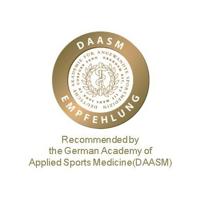 Το Original Nasara® tape προτείνεται από τη Γερμανική Ακαδημία Εφαρμοσμένης Αθλητιατρικής