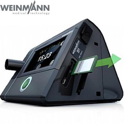 Η συσκευή Auto CPAP PRISMA 20A Weinmann διατίθεται με κάρτα μνήμης για καταγραφή των δεδομένων