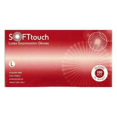 Γάντια Latex Soft Touch χωρίς πούδρα