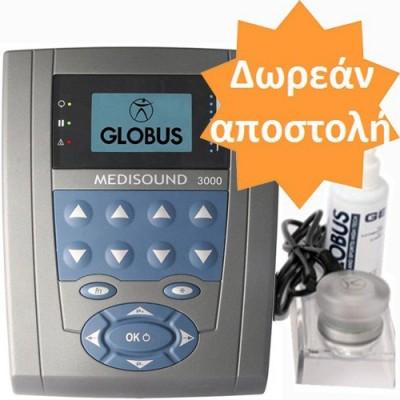 Φορητός υπέρηχος φυσικοθεραπείας Globus Medisound 3000