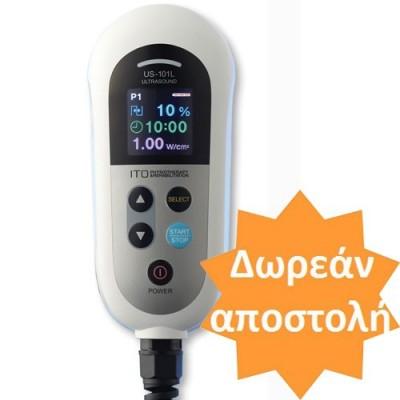 Φορητή συσκευή υπερήχων φυσικοθεραπείας ITO US 101L με έγχρωμη οθόνη τεχνολογίας OLED
