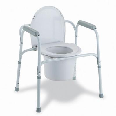 Κάθισμα τουαλέτας σταθερό ενισχυμένο για μέγιστο βάρος χρήστη 135 kg