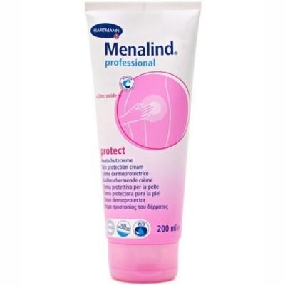 Η κρέμα προστασίας του δέρματος Menalind Professional ενισχύει την ανθεκτικότητα των ξηρών και λεπτών σημείων της επιδερμίδας