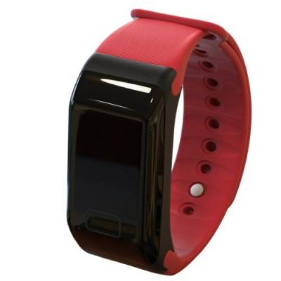 Βιομετρικό ρολόι FT8 Powerharm σε κόκκινο χρρώμα