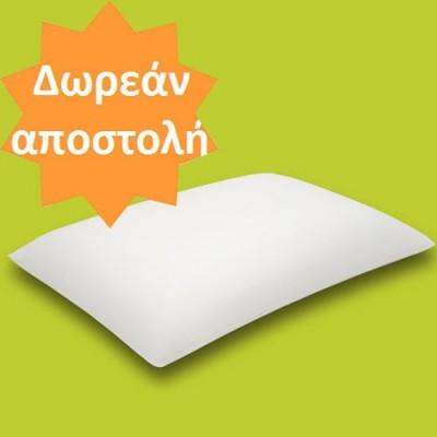 Το ορθοπεδικό μαξιλάρι Classic είναι κατασκευασμένο από ελαστική βισκόζη για ένα ξεκούραστο ύπνο χωρίς πόνους στον αυχένα