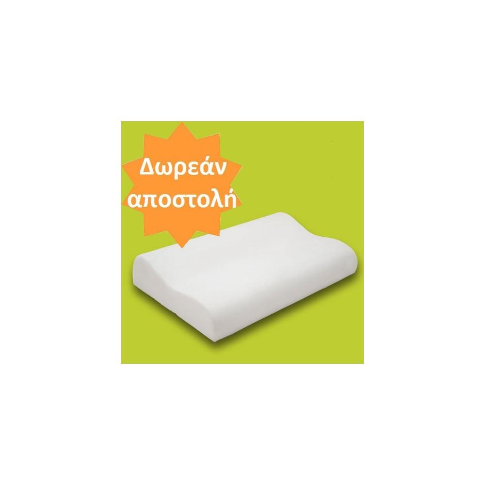 Το ανατομικό - ορθοπεδικό μαξιλάρι Deluxe εχει ειδικό σχεδιασμό για να παρέχει πλήρη στήριξη στον καταπονημένο αυχένα
