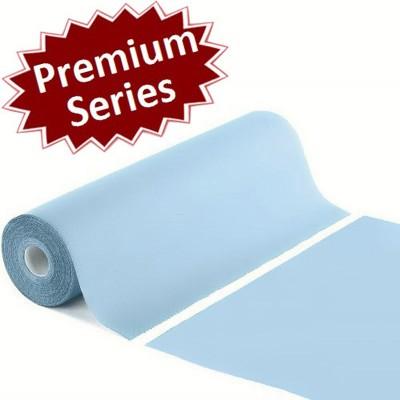 Πλαστικοποιημένο ρολό χαρτί γαλάζιο Premium