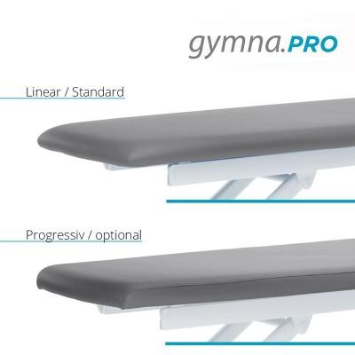 Διατίθεται στάνταρντ με επιφάνεια πάχους 40 mm και προαιρετικά με επιφάνεια Progressive μεγαλύτερου πάχους