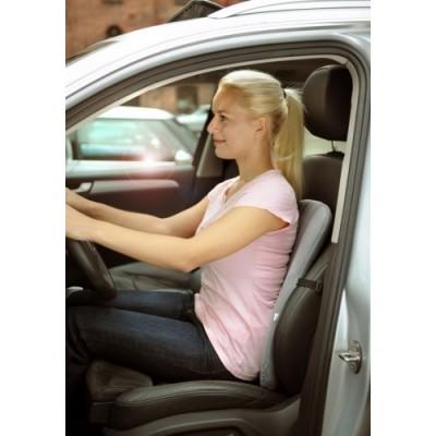 Το στήριγμα μέσης αυτοκινήτου Sissel Dorsa Back Car τοποθετείται εύκολα σε όλα τα καθίσματα αυτοκινήτων.