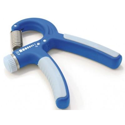 Η μπλε λαβή έχει είναι κατάλληλη για άσκηση με ρυθμιζόμενη αντίσταση από 5-20kg