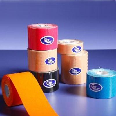 Το Cure Tape διατίθεται σε πέντε χρώματα (μπεζ, κόκκινο, μπλε, μαύρο και πορτοκαλί)