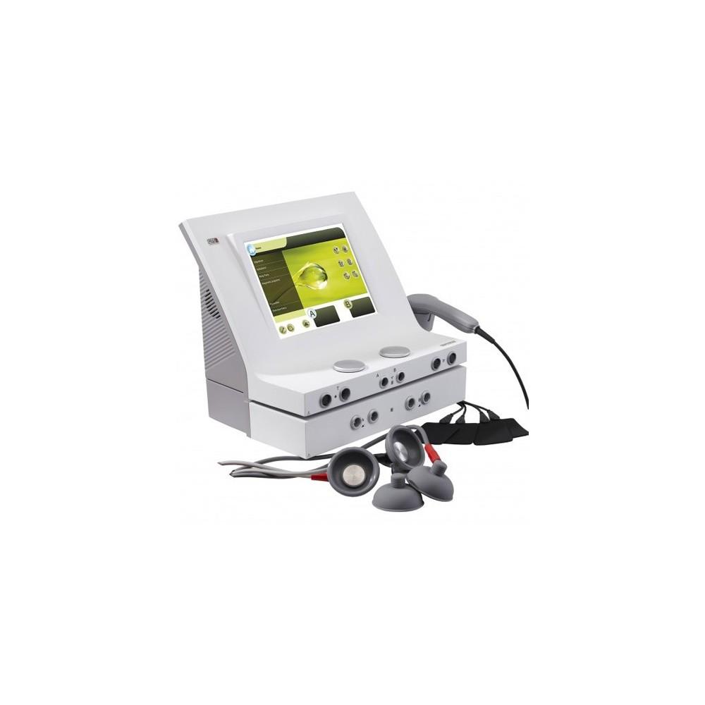 Η συσκευή Combi 400V συνδυάζει τεχνολογία αιχμής, μοντέρνα εμφάνιση, μέγιστη λειτουργικότητα και επιστημονικά τεκμηριωμένη θεραπ