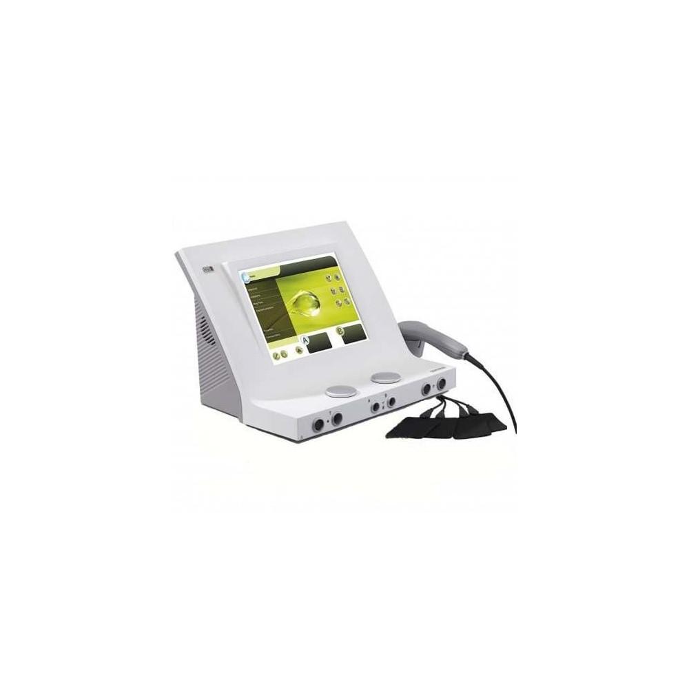 Η συσκευή Combi 400 διαθέτει 2 πλήρως ανεξάρτητα κανάλια ηλεκτροθεραπείας, επιτέποντας συνδυασμένη ή ταυτόχρονη θεραπεία