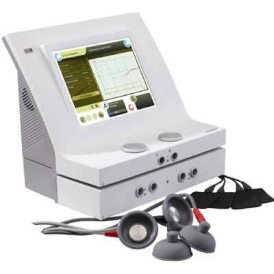 Ηλεκτροθεραπεία 2 πλήρως ανεξαρτήτων καναλιών με αναρρόφηση Duo 400V  του οίκου Gymna