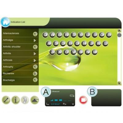 Με το σύστημα GTS2 ο φυσικοθεραπευτής μπορεί να επιλέξει το καταλληλότερο πρωτόκολλο μέσω στόχων θεραπείας ή μέσω λίστας παθήσεω