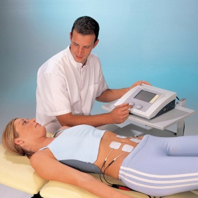 Η ηλεκτροθεραπεία Duo 200 διαθέτει εύκολο λογισμικό στα Ελληνικά που καθοδηγεί το φυσικοθεραπευτή