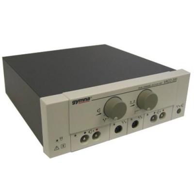 Η συσκευή Myo 200 όταν χρησιμοποιείται σαν ηλεκτροθεραπεία μπορεί να συνεργαστεί με τη δικάναλη συσκευή αναρρόφησης Vaco 200