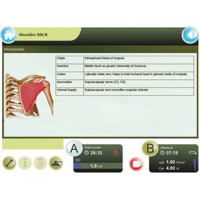 Το GTS 2 διαθέτει λεπτομερείς ανατομικούς χάρτες με πληροφορίες για τους μύες, τους συνδέσμους, την αιμάτωση και τη νεύρωσή τους